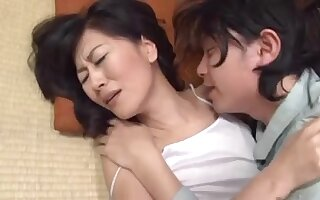 Oriental sex with a slim small mother I'd like to fuck